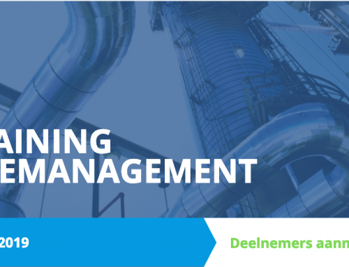 Training Sitemanagement start op 9 april
